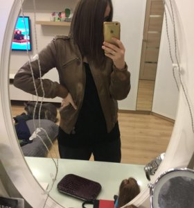 Курточка весенняя, кожзам