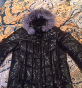 Зимняя куртка новая р 52