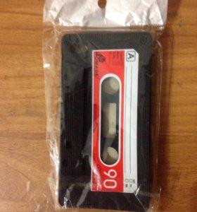 Чехол - касета на айфон 4