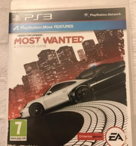Игра для PS3 NeedForSpeed Most Wanted