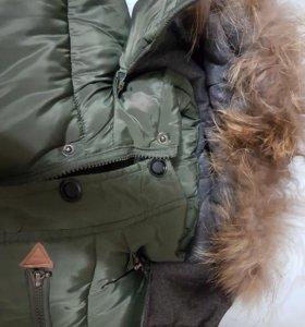 Куртка зимняя на подростка очень теплая !!!!