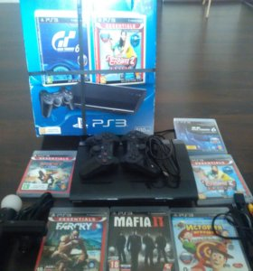 Консоль Sony Play Station 3 PS 3 Super Slim