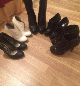 Ботельены и туфли 35 размер.