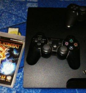 Игровая приставка Sony Playstation 3.