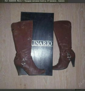 сапоги Inario нат кожа р. 37