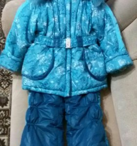 Зимний комбез с курткой 110-116