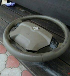 Руль с подушкой от Volvo xc 70