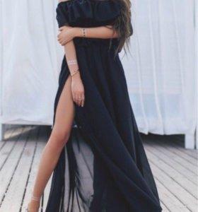 Шифоновое платье в аренду