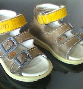 Ортопедические сандалии Minimen размер 19