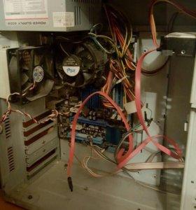Компьютер в сборе с монитором