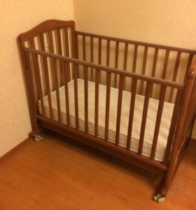 Детская кроватка papaloni джованни и матрас