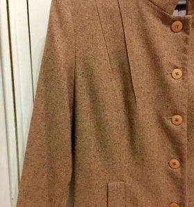 Пальто с люрексом