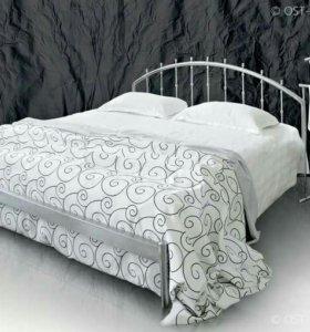 Кровать из нержавейки