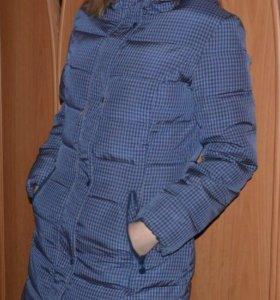 Удлиненная куртка - пуховик Остин