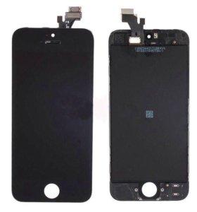 iPhone 5/5s дисплей + тачскрин AAA/original черный