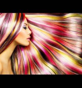 Мгновенная краска для волос