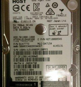 Жесткие диски HDD 1 Tb