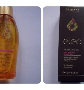 Защитное масло Eleo для волос