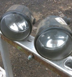 Фары противотуманные на Nissan Almera g15