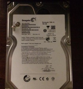 HDD Seagate ST3750528AS