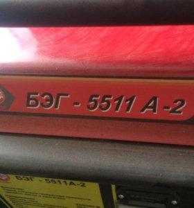 Бензогенератор Калибр БЭГ-5511 А-2 5.5 кВ.т.