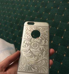 Чехол на айфон 6 , аллюминий