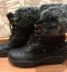 Зимние сапоги для девочки р34