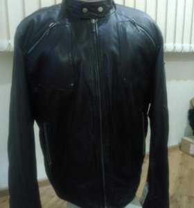 Куртка мужская из натуральной кожи, новая