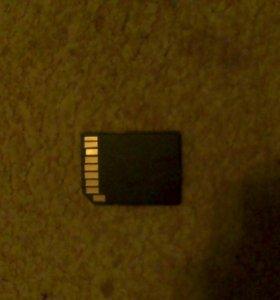 Переходник с мини SD card на обычную SD
