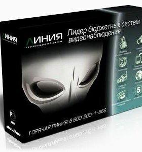 Система видеонаб-ия Линия Effio 16x25 Hybrid IP