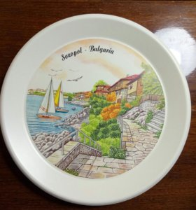 Тарелка декоративная Болгария