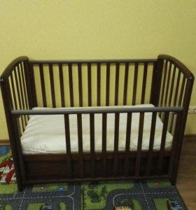 Кровать детская. Матрас. Кроватка детская.