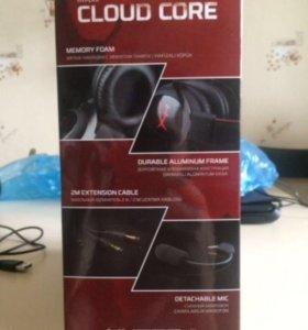 Игровые наушники hyperx cloud core