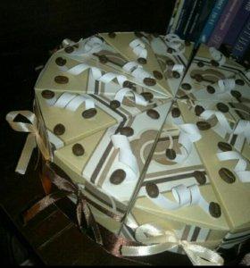 Торт из картона