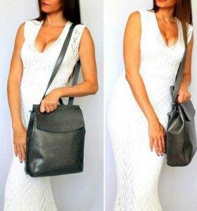 Рюкзак женский кожа