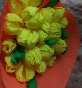 Цветы мастер класс ,исквуственые и качественые .