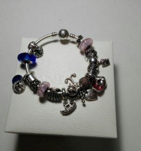 Pandora оригинальный браслет и шармы