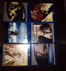 DVD диски blu-ray