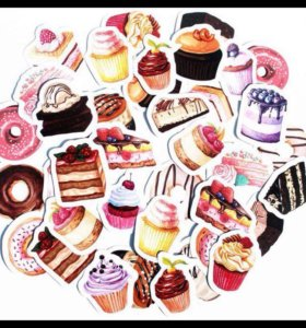 Стикеры тортики