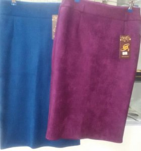 Новые замшевые юбки