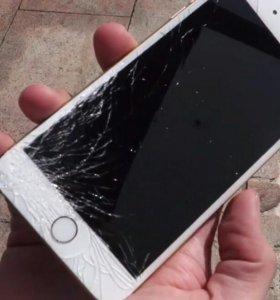 Замена стекла Iphone,Samsung
