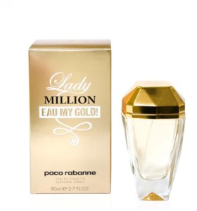 paco rabanne Lady MILLION EAU MY GOLD EDT 80 мл