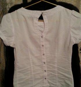 Белая блузка 44-46