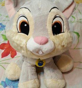Плюшевая игрушка заяц