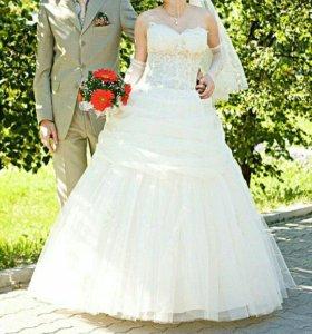 Свадебное платье 44-52