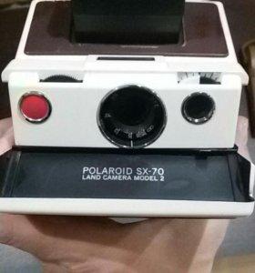 Фотоаппарат Polaroid SX 70 1974 г. в.
