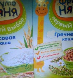 Каша рисовая и гречневая