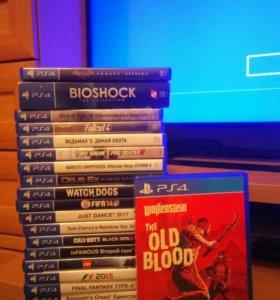 Wolfenstein Old Blood на Playstation 4