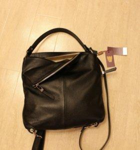 Новый рюкзак сумка трансформер Gaude натур. Кожа