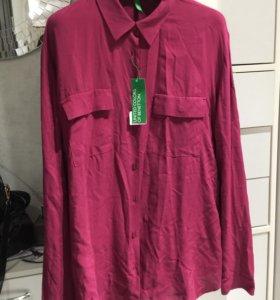 Рубашка Benetton. Новая